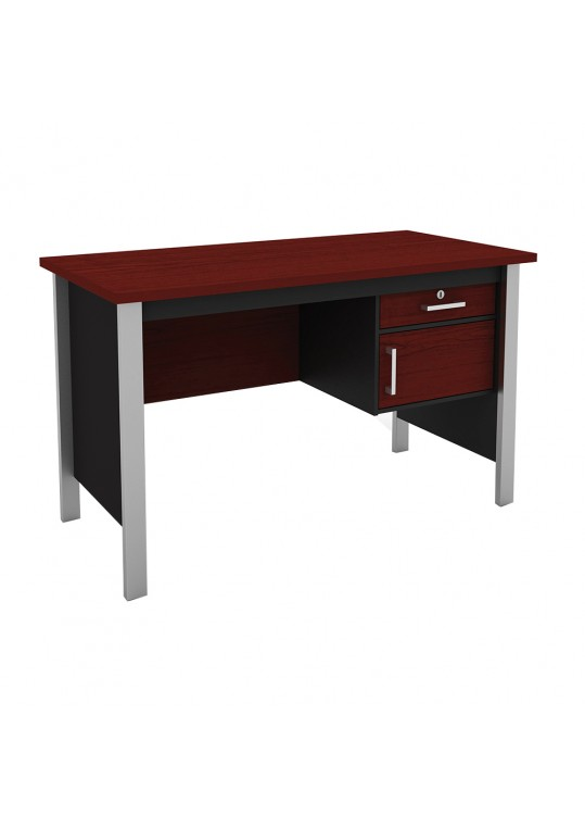 Mortred Study Desk With Iron Feet